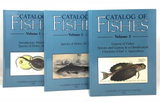 Catalog of Fishes, Volumes 1-3 [Complete Three Volume Set]