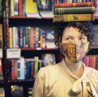 Bookish Mask in Classic Covers