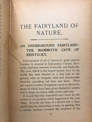 The Fairyland of Nature