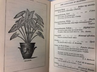 The Language of Flowers; With a Complete Vocabulary and a New Selection of Quotations from the English Poets, Illustrating the Sentiment and Meaning Attached to the Various Flowers and Plants, Together with Flower Language in Bouquets