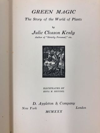 Green Magic: The Story of the World of Plants