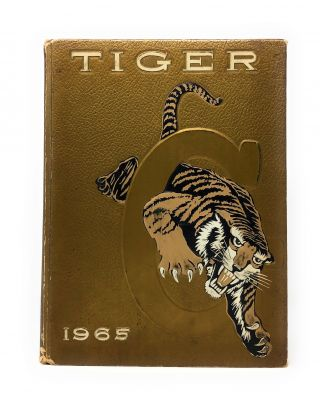 HBCU] The Tiger 1965 Yearbook for Historically Black Grambling College