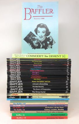 The Baffler, 29 Issues: Numbers 1, 5, 6, 7, 8, 10, 11, 13, 14, 15, 32, 33, 34, 35, 36, 37, 38, 39, 40, 41, 42, 43, 44, 45, 46, 47, 48, and Commodify Your Dissent