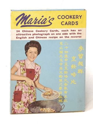 Maria's Cookery Cards. Maria Lee