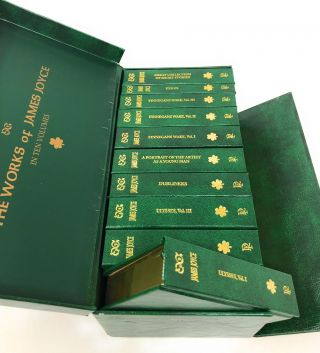 The Works of James Joyce in Ten Volumes