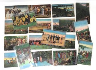 President Theodore Roosevelt in Africa, 19 Color Post Cards of the Smithsonian–Roosevelt...