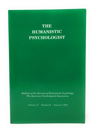 The Humanistic Psychologist Volume 17 Number 2 Summer 1989. Christopher Aanstoos