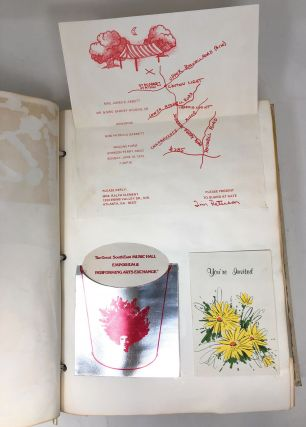 1970s Atlanta Debutante Club Scrapbook