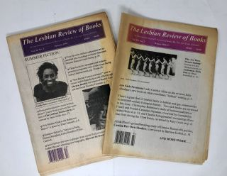 The Lesbian Review of Books: An International Quarterly Review of Books By, For, and About Lesbians, 18 Issues, 1994-1999