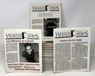 Womyn's Words, 55 Issues, 1992-1998 [Florida Lesbian Magazine