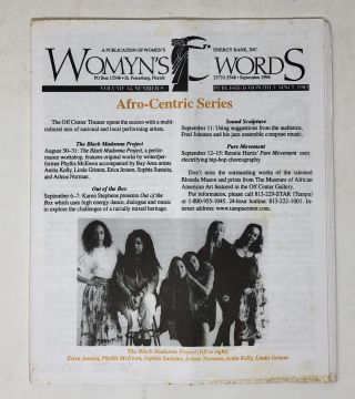 Womyn's Words, 55 Issues, 1992-1998 [Florida Lesbian Magazine]