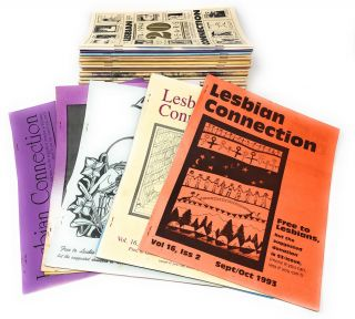 Lesbian Connection: A Nationwide Forum of News & Ideas For, By & About Lesbians, 37 Issues,...