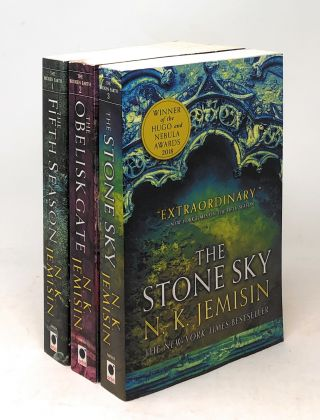 The Broken Earth Trilogy: The Fifth Season, The Obelisk Gate, and The Stone Sky [Two SIGNED by N....