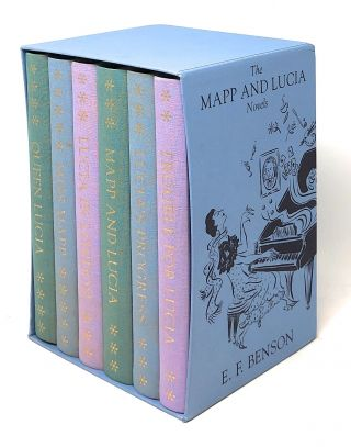 The Mapp and Lucia Novels, 6 Volume Set: Queen Lucia, Miss Mapp, Lucia in London, Mapp and Lucia,...