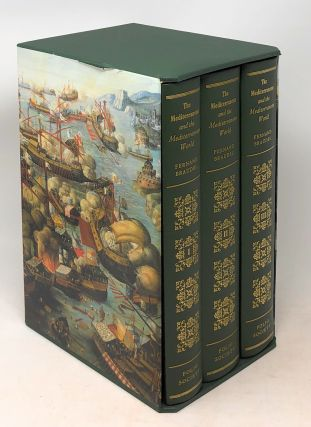 The Mediterranean and the Mediterranean World, Complete in 3 Volumes. Fernand Braudel, Sian...