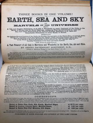[Salesman's Dummy] Earth, Sea and Sky or, Marvels of the Universe