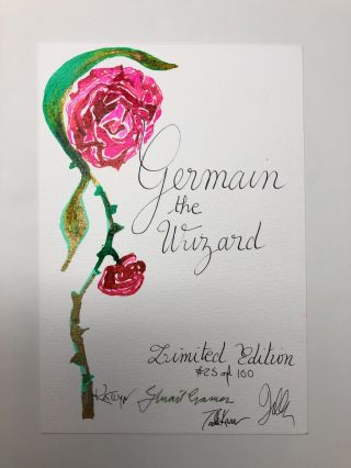 Germain the Wizard [Signed, Limited, Slipcased First Edition]