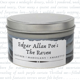 Edgar Allan Poe's The Raven | Literary Candle
