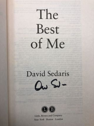 The Best of Me [SIGNED First Edition]
