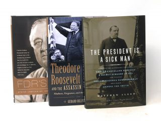 Lot of 6 Books About Illness, Injury, & Disease Among Presidents and World Leaders