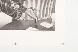 The Letter: Swept Away, The Messenger, Spellbound, The Fan [Complete Suite of 4 Signed and Numbered Lithographs]