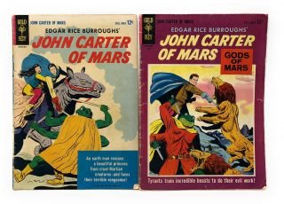 Edgar Rice Burroughs' John Carter of Mars, Issue #1 and Edgar Rice Burroughs' John Carter of...