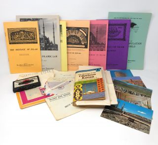 1970s Muslim Ephemera Collection, Including Postcards from Mecca and Muslim Students' Association...