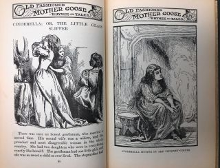 Mother Goose Fairy Tales: The Collection of Childhood's Favorite Stories (Old Fashioned Fairy Tales, with Original English Illustrations)