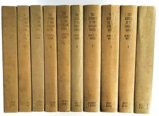 The History of the English Novel [10 Volumes]. Ernest A. Baker