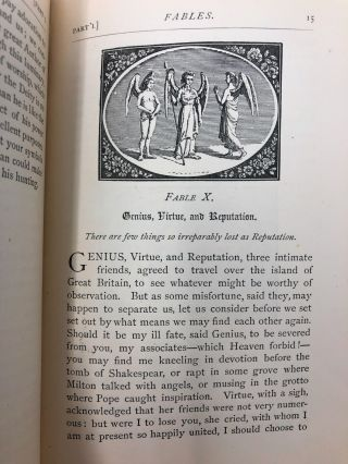 Bewick's Select Fables of Aesop and Others