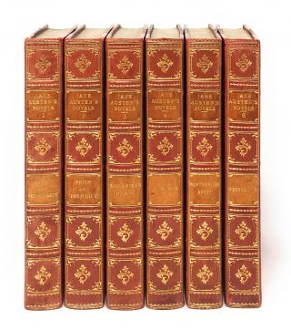 Bayntun Bindings] The Novels of Jane Austen, Complete in Six Volumes: Sense and Sensibility,...
