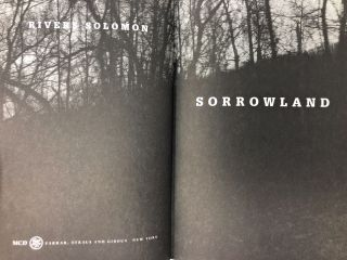Sorrowland [SIGNED FIRST EDITION]
