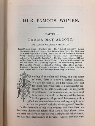 Our Famous Women: An Authorized Record of the Lives and Deeds of Distinguished American Women of Our Times