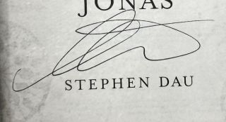 The Book of Jonas [SIGNED FIRST EDITION]