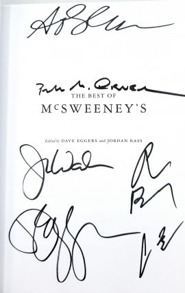 The Best of McSweeney's [SIGNED]