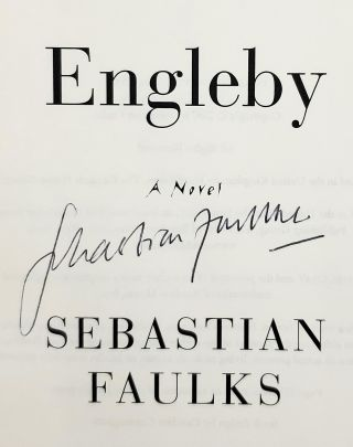 Engleby: A Novel [SIGNED FIRST EDITION]
