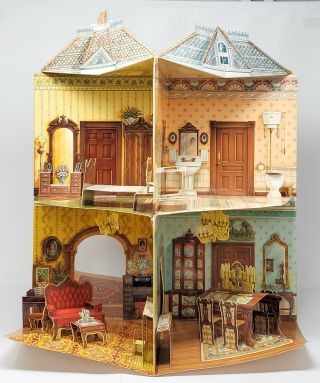 A Three-Dimensional Victorian Doll House [Pop-up Book]