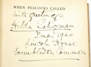 When Peacocks Called [SIGNED]