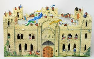The Great Castle Mystery: A Three-Dimensional Adventure [Pop-up Book]