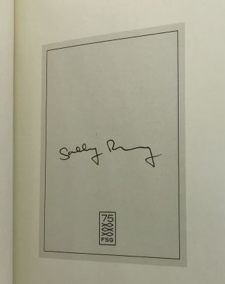 Beautiful World, Where Are You? [SIGNED FIRST EDITION]