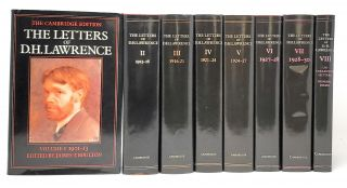The Letters of D.H. Lawrence, Volumes 1-8 [Complete 8 Volume Set]